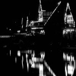 """Boathouse Row"" Hiu Yau, Basic Photography Spring 2001"