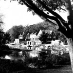 """Boathouse Row"" Justin Davis, Basic Photography Fall 2000"