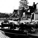 """Boathouse Row"" Cansu Oguzuzun, Basic Photography Fall 2000"