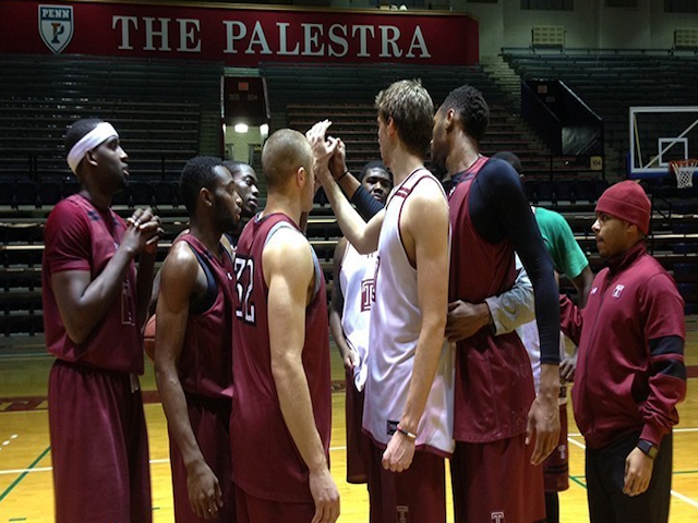 Temple's Mens Basketball team