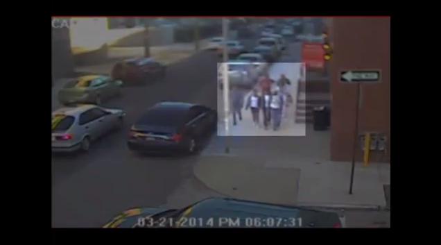 Suspect video screenshot