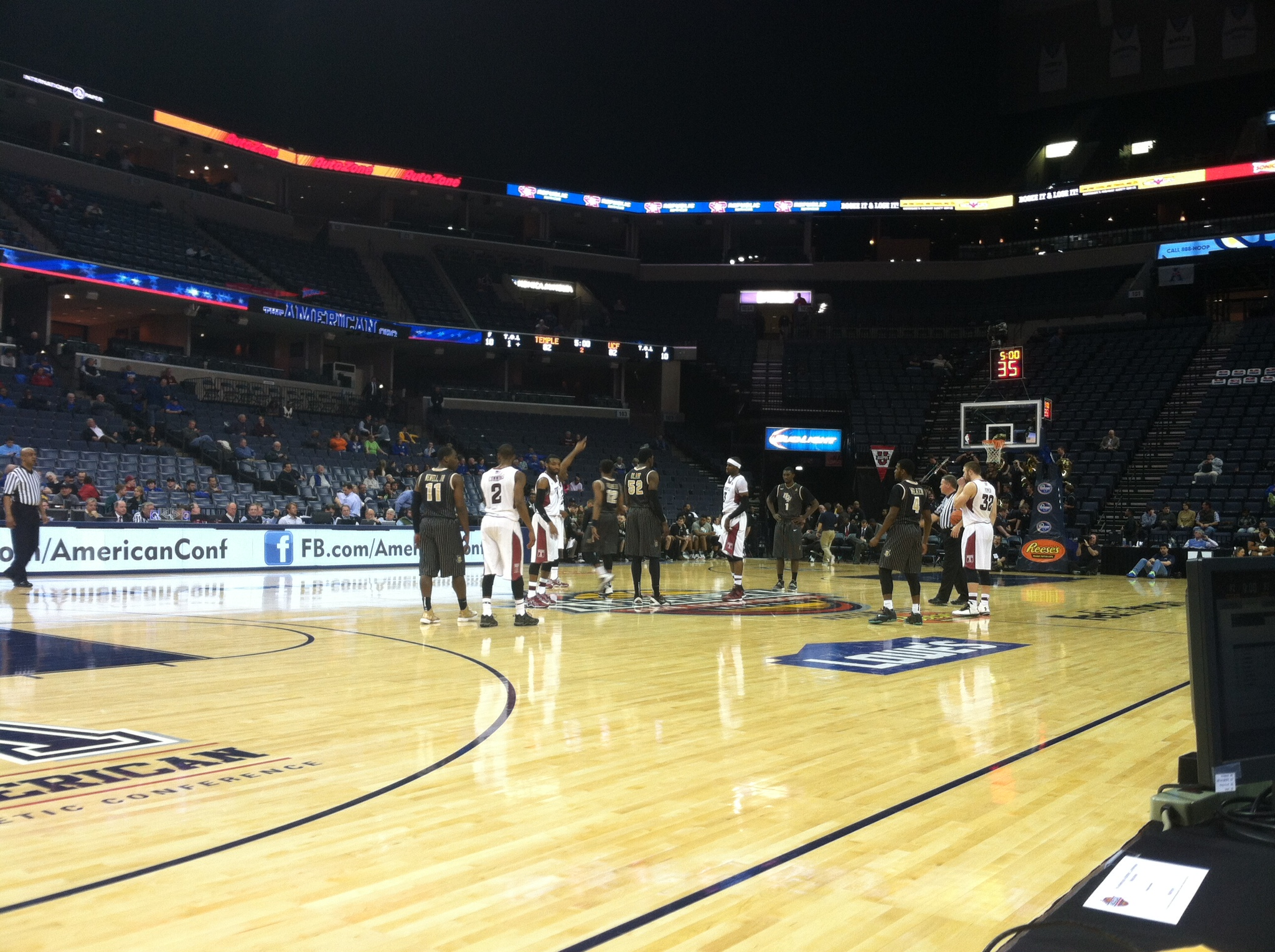 Temple vs. UCF -- AAC Tournament
