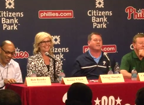 Phillies' College Night panelists