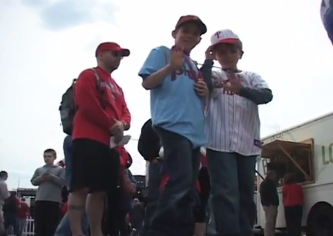 Phillies fans gear up for the home opener