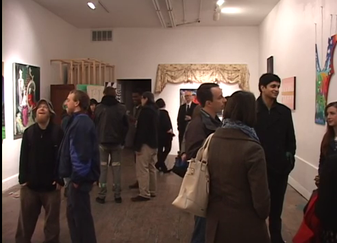 Art lovers gather in Old City galleries