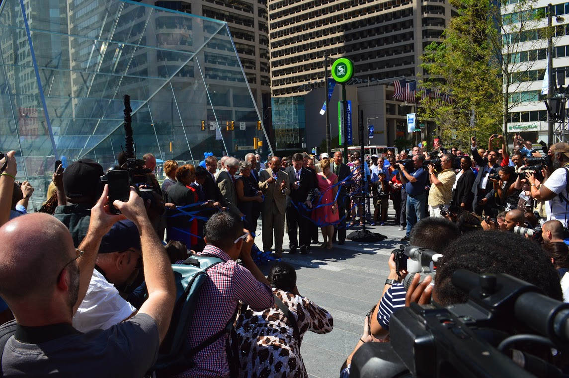 Ribbon Cutting at Dilworth Park