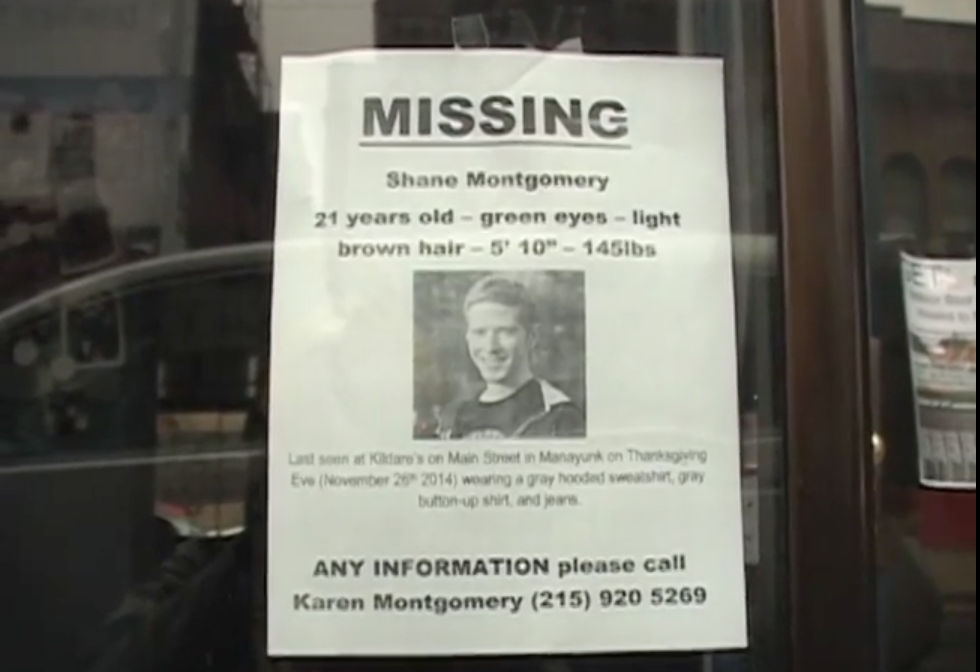 Proposal for External Cameras at Philadelphia Bars folllowing Shane Montgomery's Death