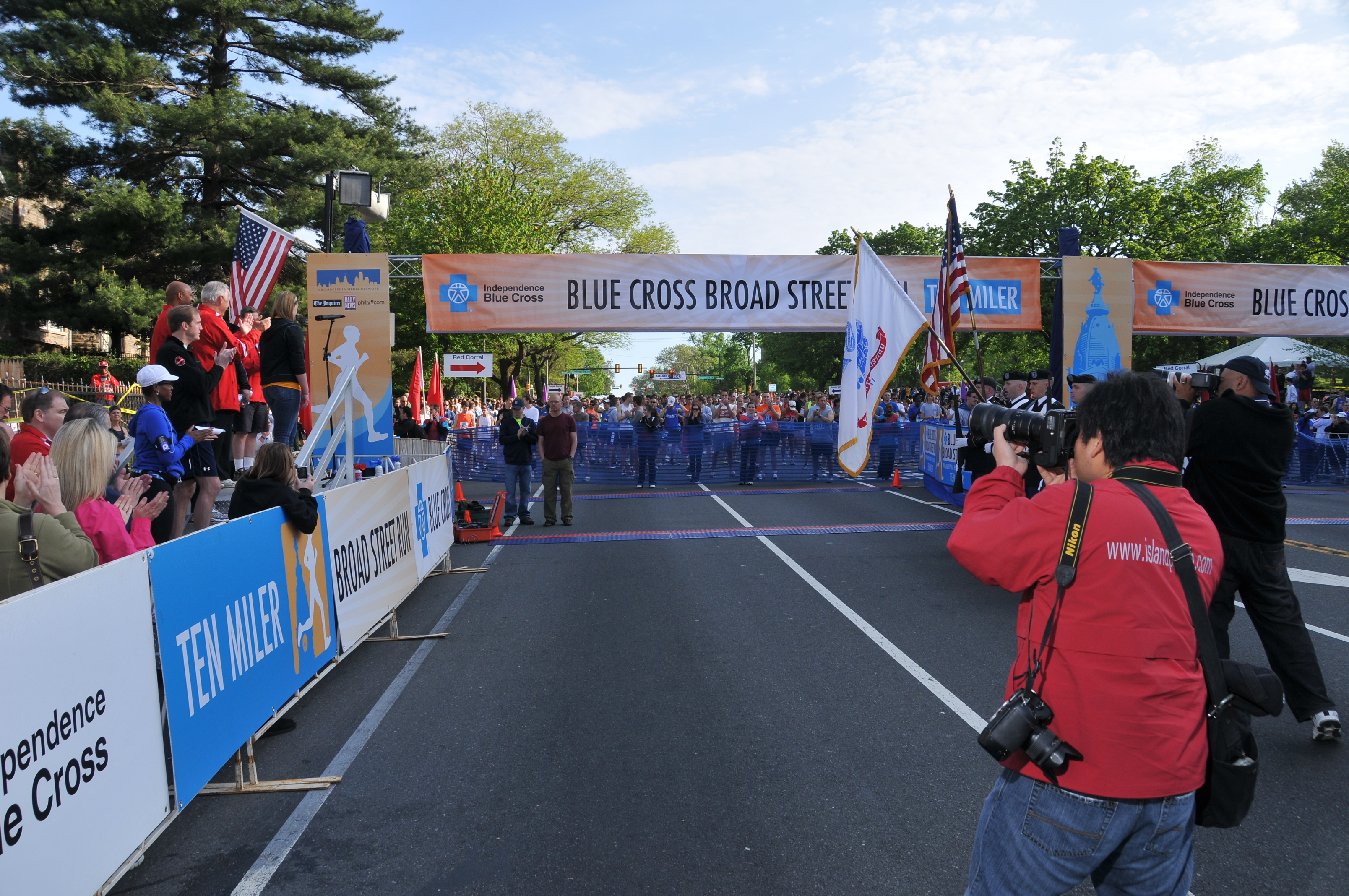 Runners Take Their Mark on Broad Street