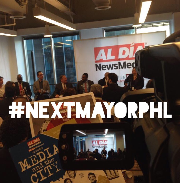 Democratic Mayoral Candidates Gather for Public Debate in Center City