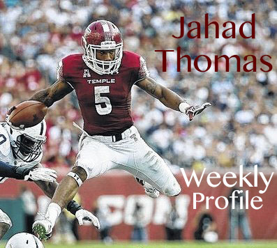 TU SportsDesk Weekly Profile: Jahad Thomas