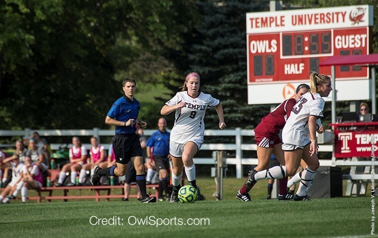 Temple Girls Soccer Wins Against New Hampshirt