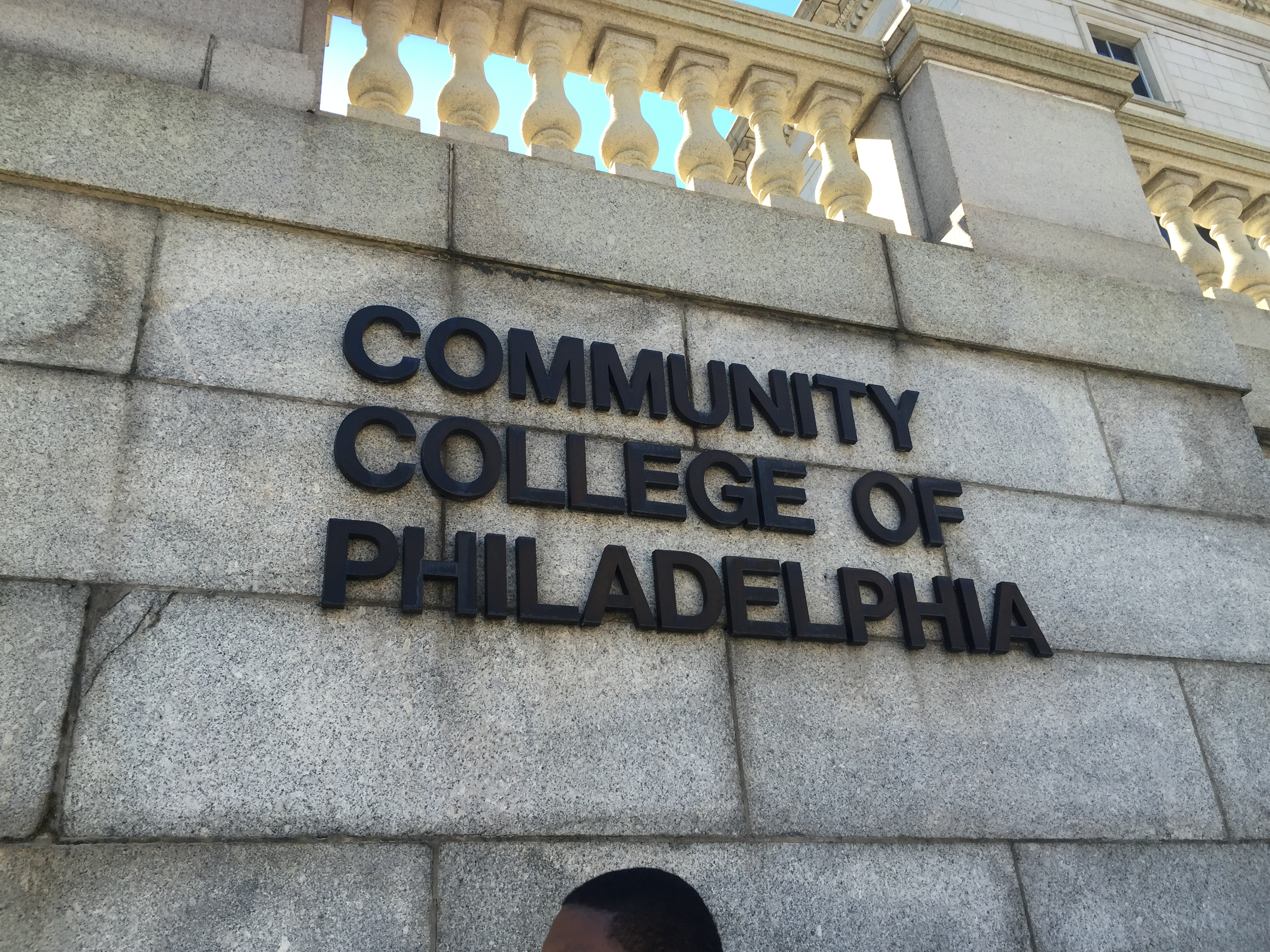 Community College of Philadelphia Goes into Lockdown after threat made with a gun occurs on campus.