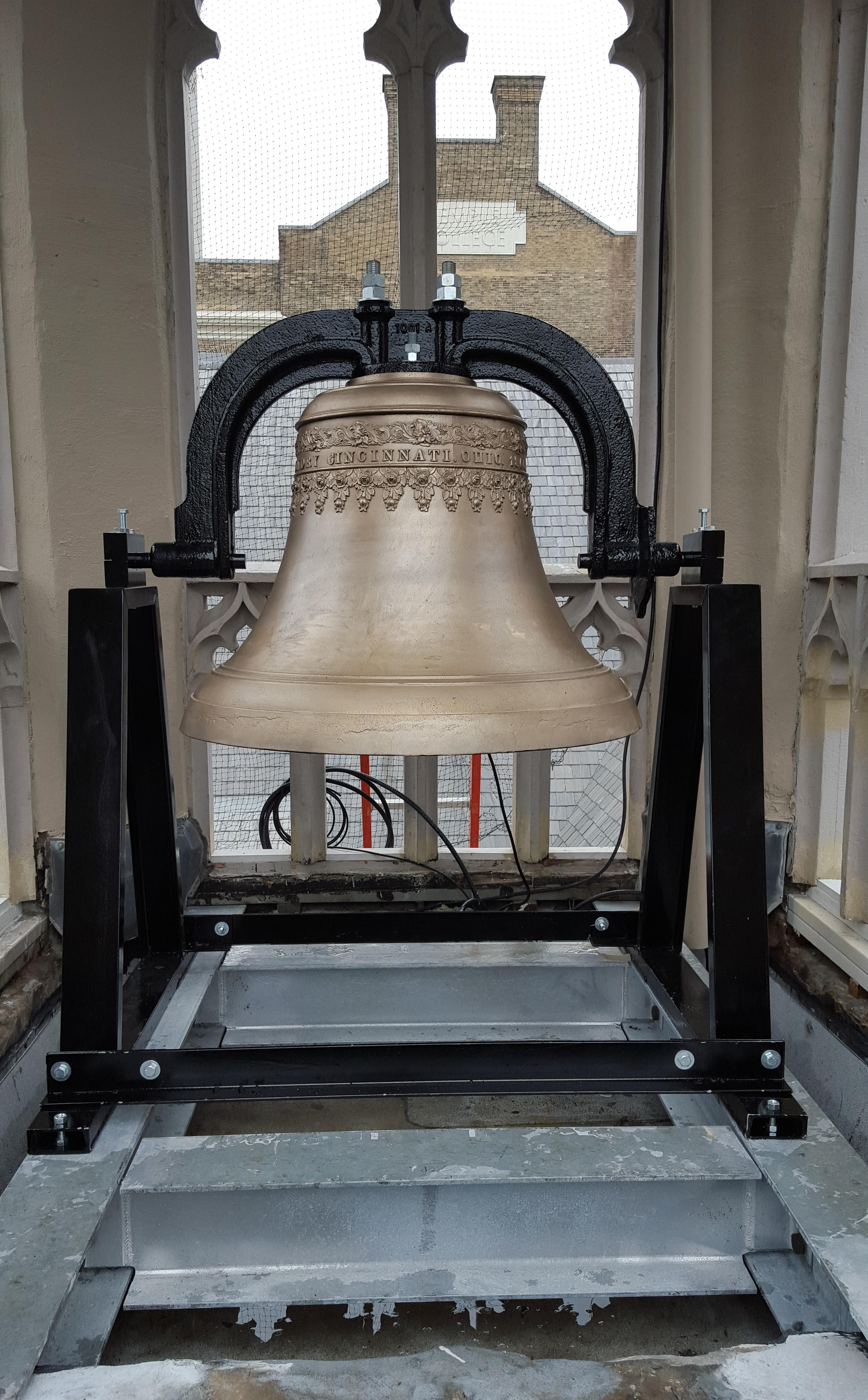 Bell at Shutterman Hall