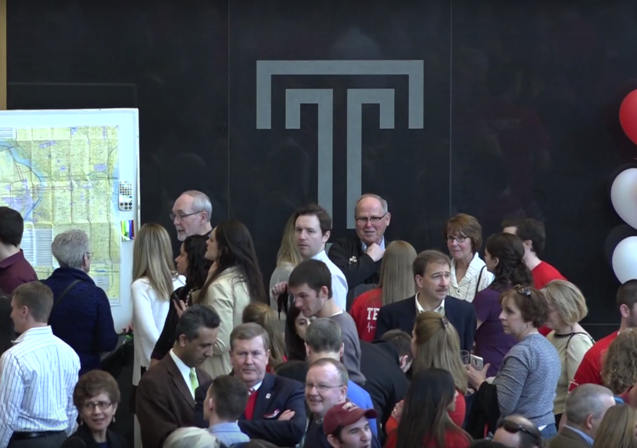 Pre-Med Students go through match day to find out what medical school they were accepted into.