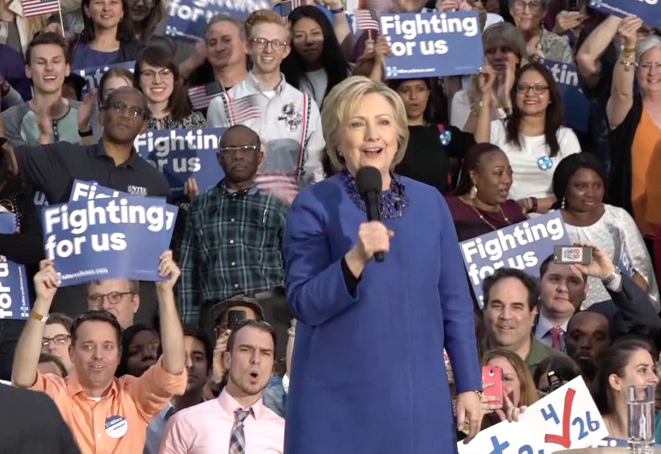 Hillary Clinton is returning to Temple this week.
