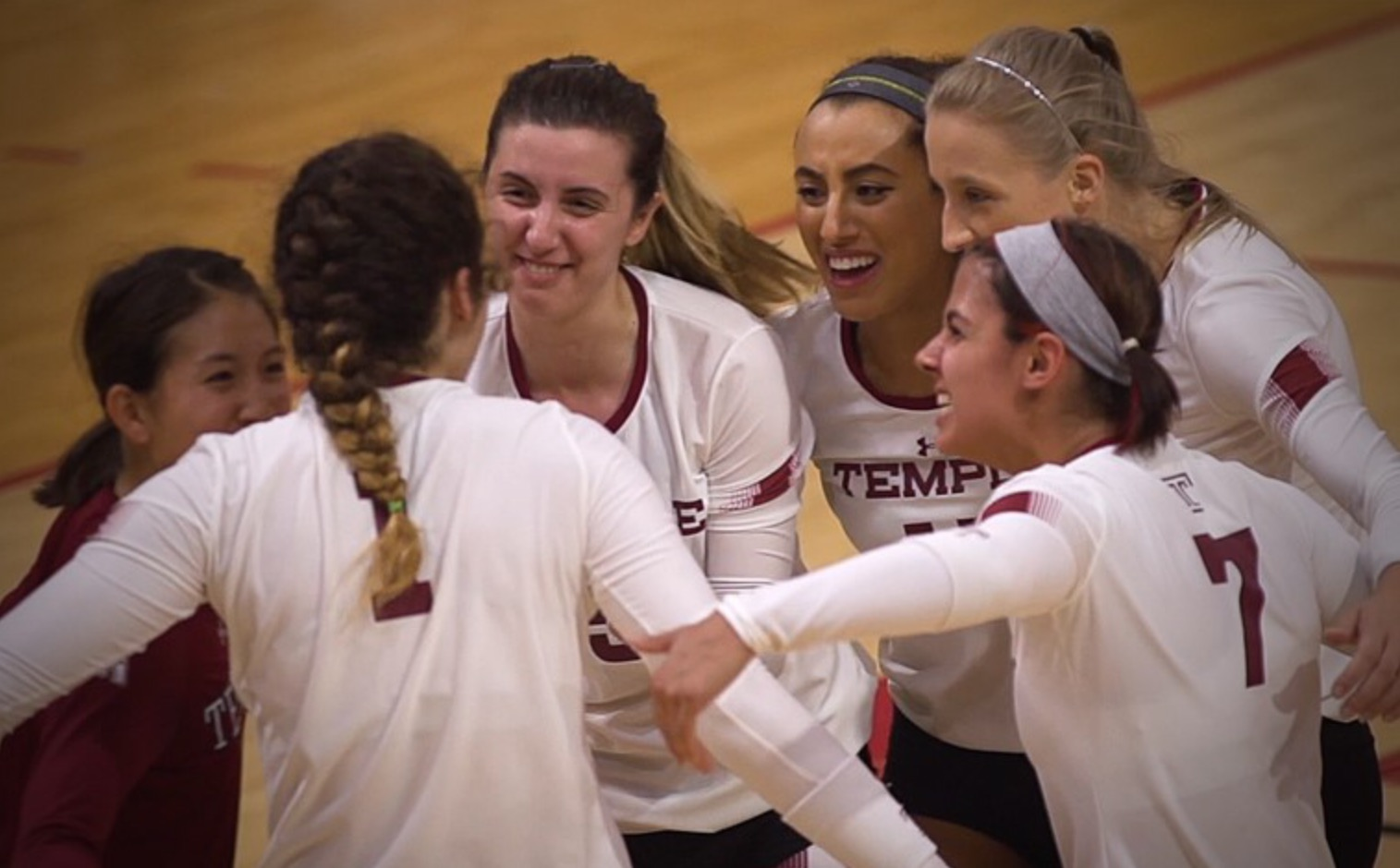 Asci reaches 1,000 kills as Temple Beats UConn