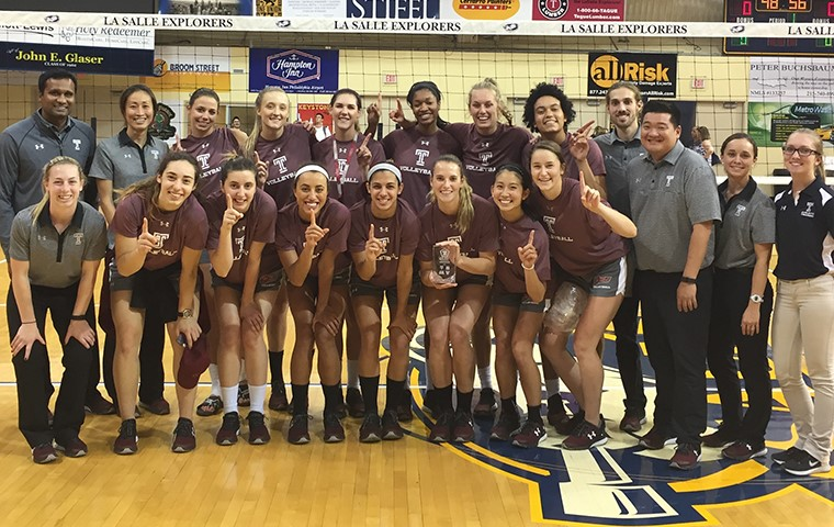 Temple Volleyball Wins Philadelphia Big 5 Tournament