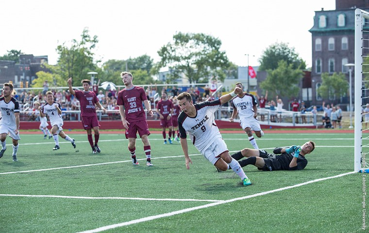 Temple Men's Soccer Rebounds from 2 Game Losing Streak with Shutout