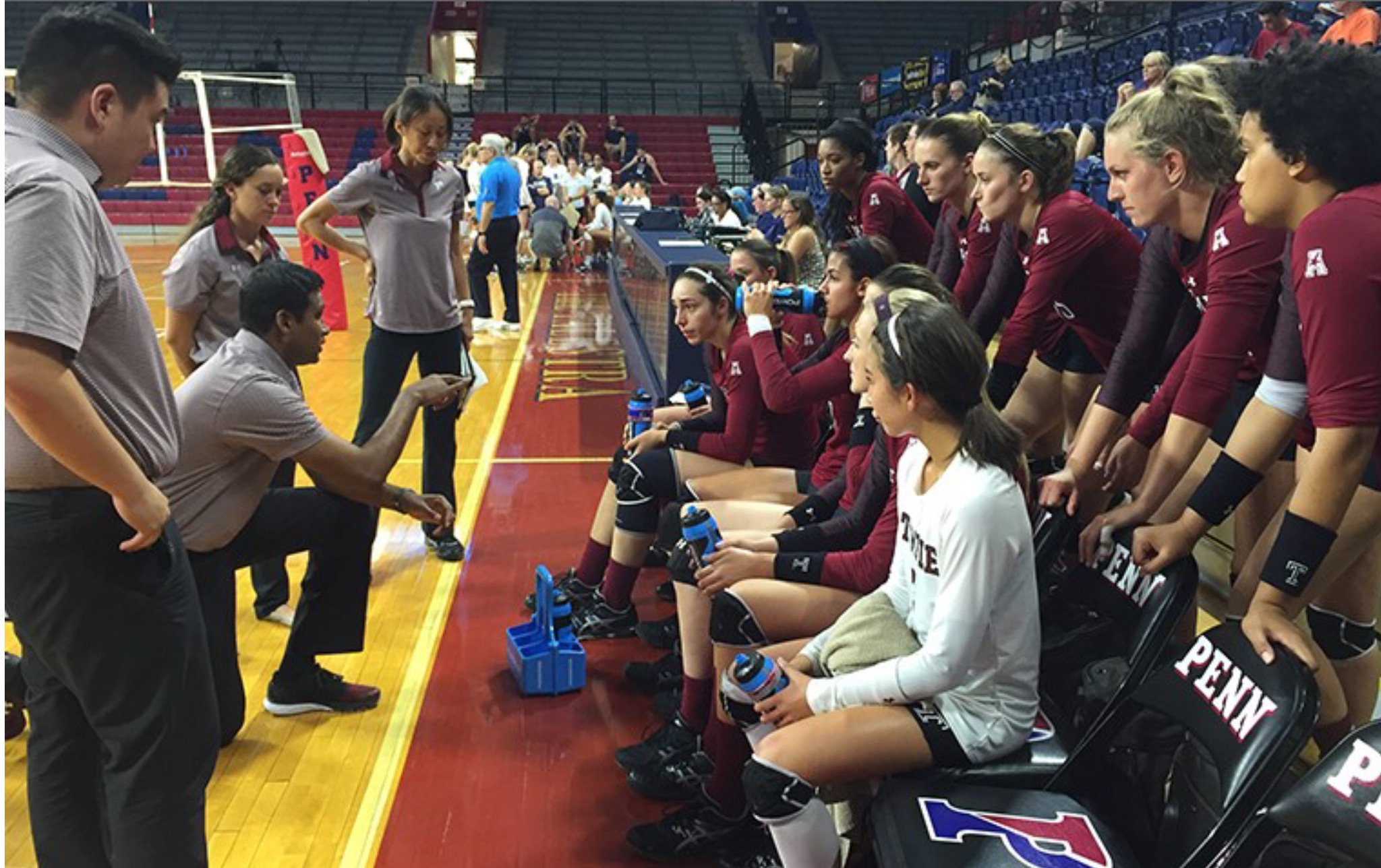 Temple Volleyball Captures 3rd Straight Win in Sweep