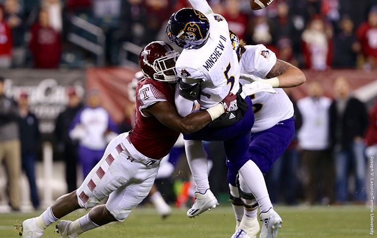 Owls Win AAC East for Second Straight Year With Victory Over East Carolina