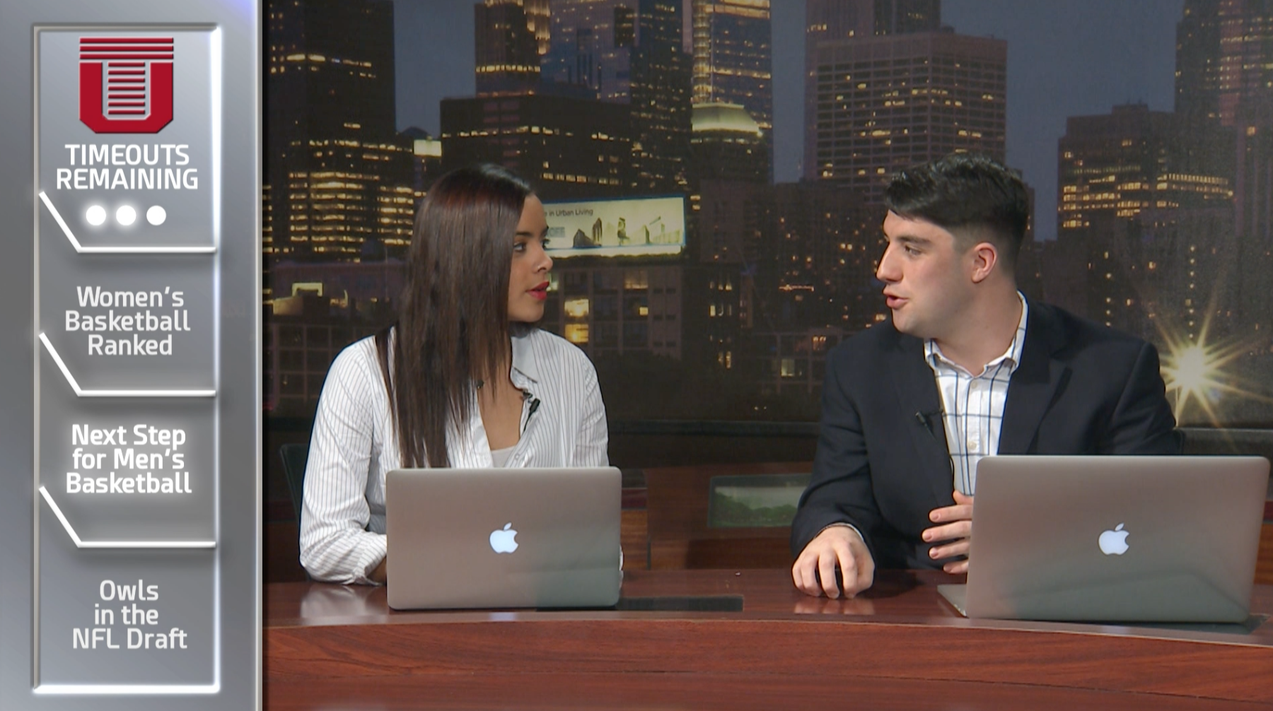 Temple Timeout: The SportsDesk's New Webisode Series