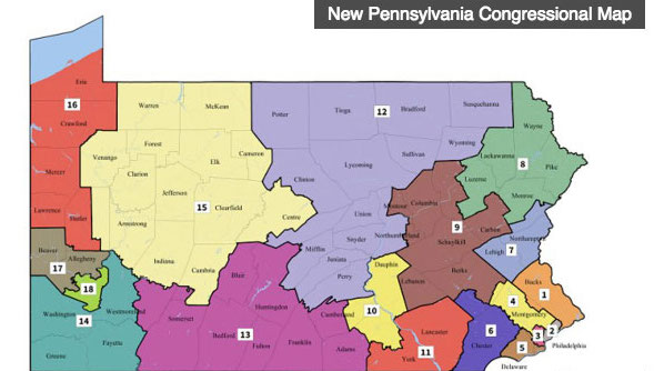 New Congressional Map Being Challenged by PA GOP