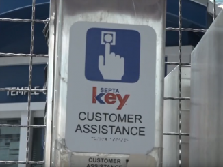 An image of a septa key card assistance help box
