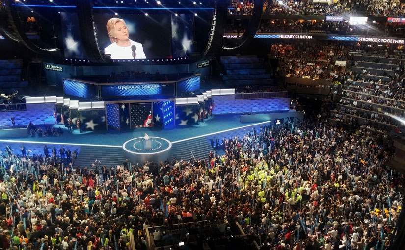 Inside the 2016 DNC as Hillary Clinton accepts Democratic Party's nomination