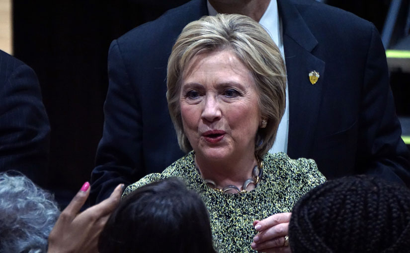 Clinton appears to embrace Black Lives Matter