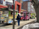 food trucks on 13th st. at Temple's main campus