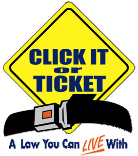 """Chillicothe Police join """"Click it or Ticket""""  Campaign"""
