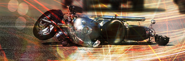 A motorcycle rear ended a pickup in Miller County