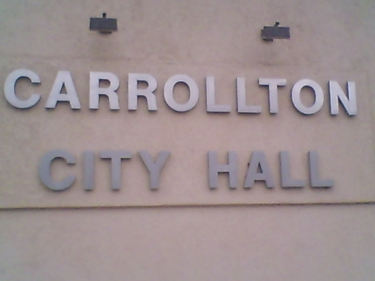 Carrollton Leaders Meet on Light Agenda