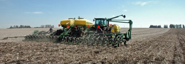 Farmers can see the finish line for corn planting