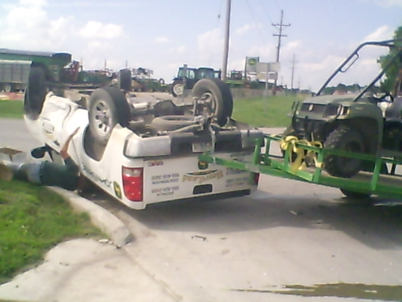 Rollover in Saline County