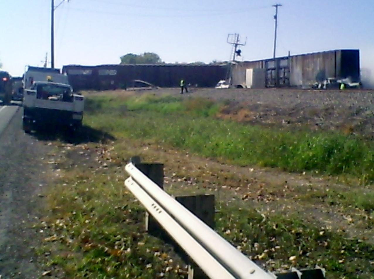Ashland driver hits train in Cooper County