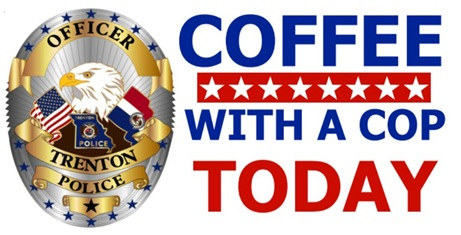 Trenton community can enjoy 'Coffee With a Cop'