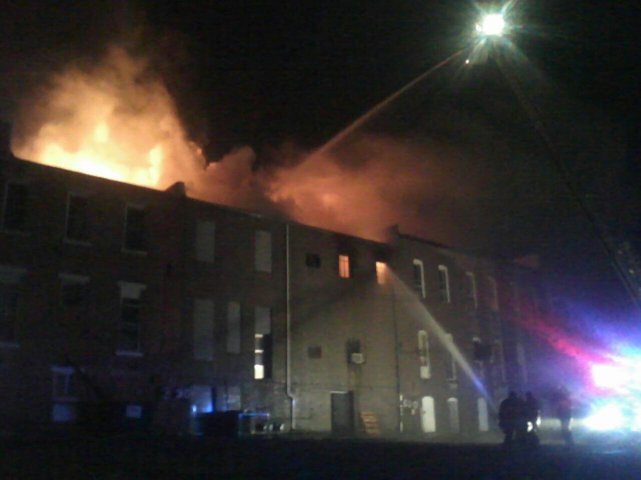 Fire Rips Through Carrollton Businesses
