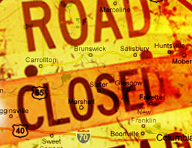 Updated List of Area Road Closings