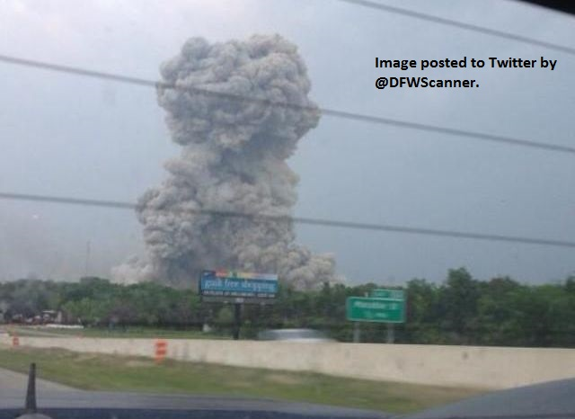 Fatalities Reported in TX Plant Explosion