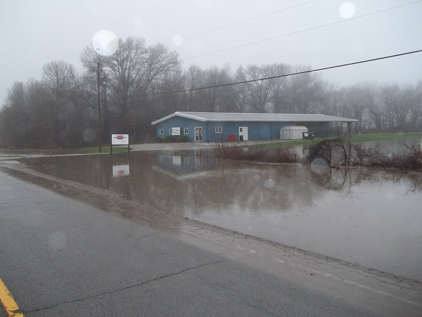 High Water Threatens Brookfield Businesses