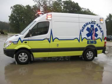Board Selects New Ambulance