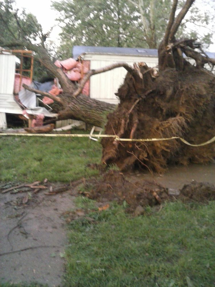 Knob Noster Hit by Tornado