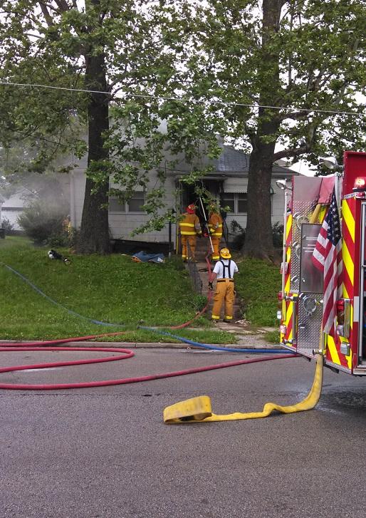 Fire Damages Carrollton Home