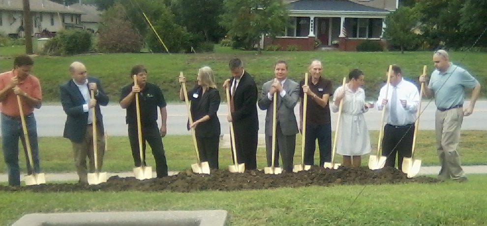 Ground Broke on Road Project Expansion