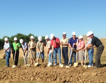 Wastewater Treatment Plant Groundbreaking Ceremony