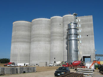 Corder Grain Elevator to Open
