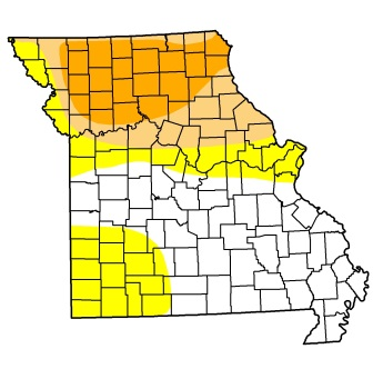 Long-term Dry Conditions a Possibility