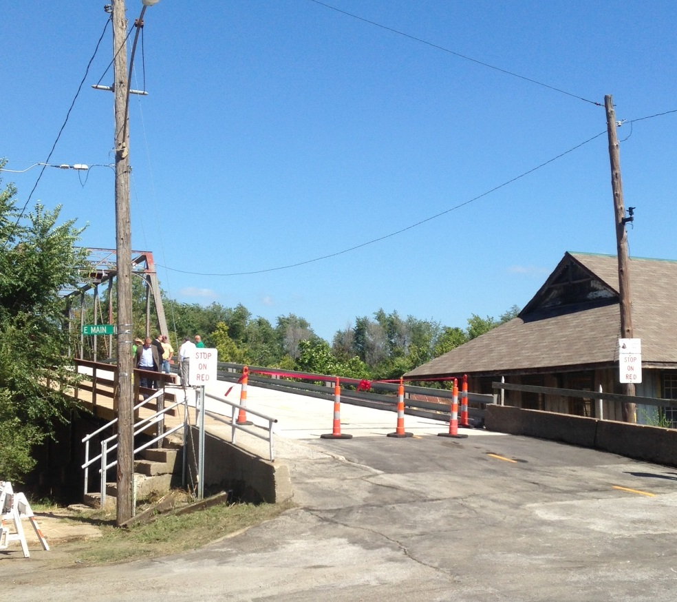 Historic Sedalia Bridge Reopens