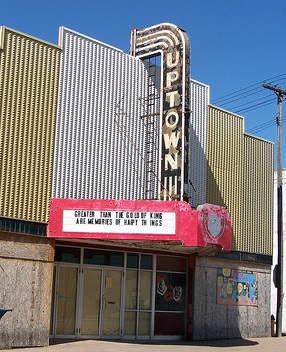Carrollton Theatre Under Demolition